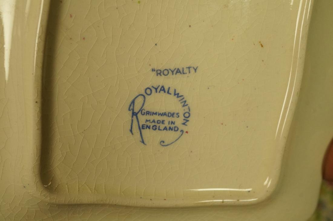 "12pc Chintz Mixed Lot. 4pcs Royal Winton ""Royalty - 3"