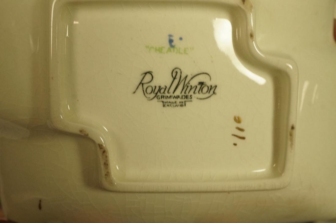 "12pc Chintz Mixed Lot. 4pcs Royal Winton ""Royalty - 4"