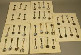 Collection 38 Silver  800 Sterling Souvenir Spoon