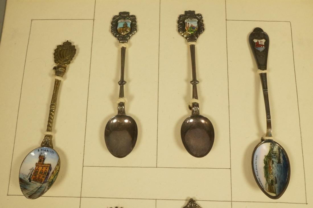Collection 38 Silver  800 Sterling Souvenir Spoon - 3