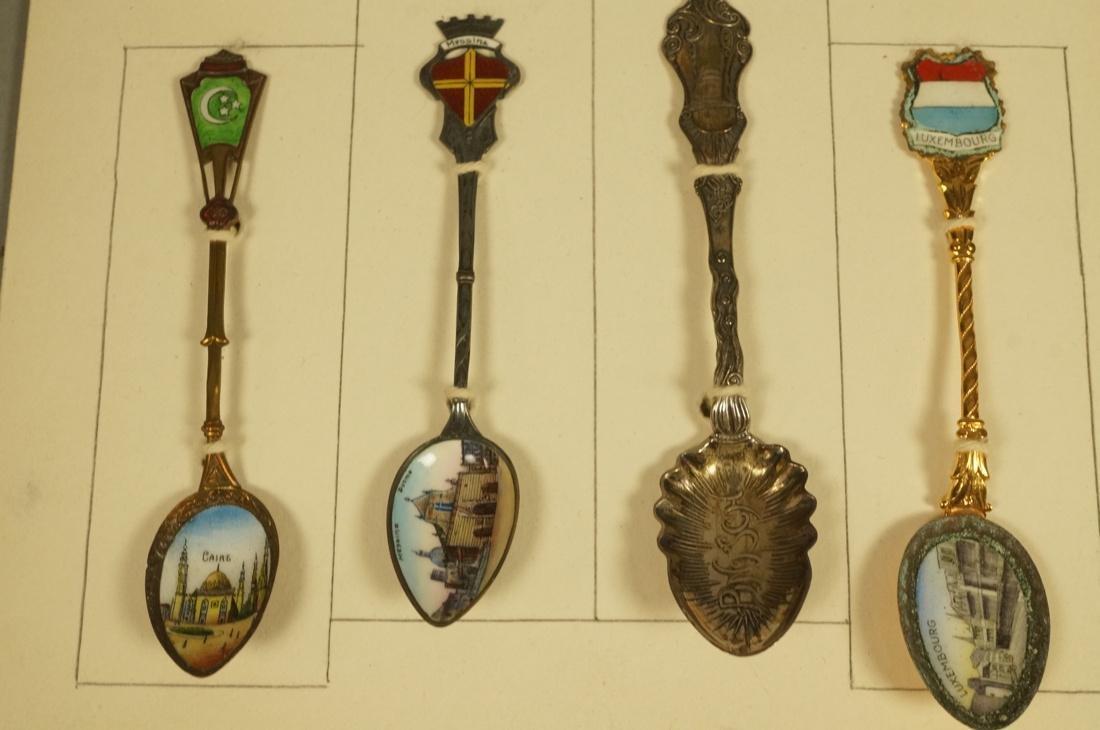 Collection 38 Silver  800 Sterling Souvenir Spoon - 4