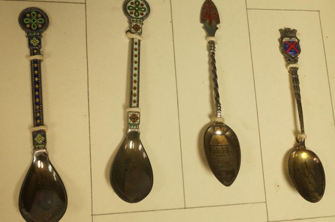 Collection 38 Silver  800 Sterling Souvenir Spoon - 9