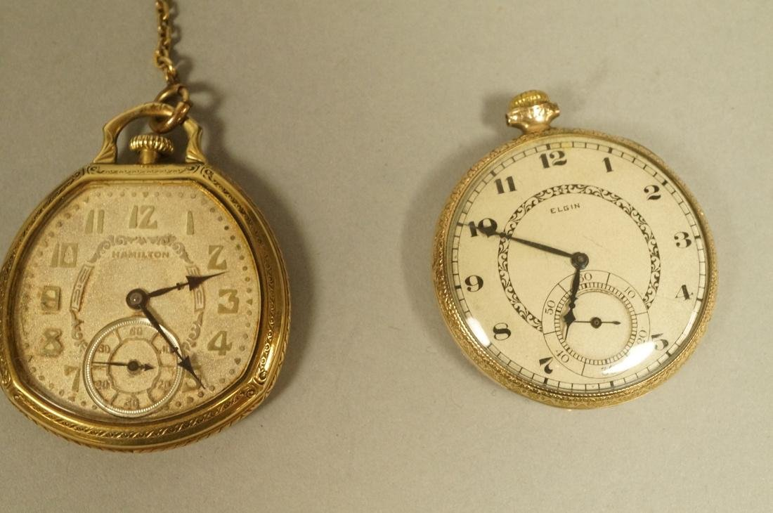 5pc Vintage Watch Lot. 1). OMEGA Mens Wrist Watch - 2