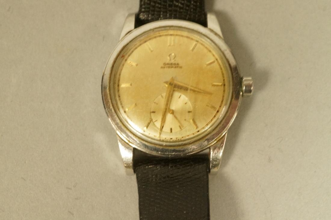 5pc Vintage Watch Lot. 1). OMEGA Mens Wrist Watch - 4