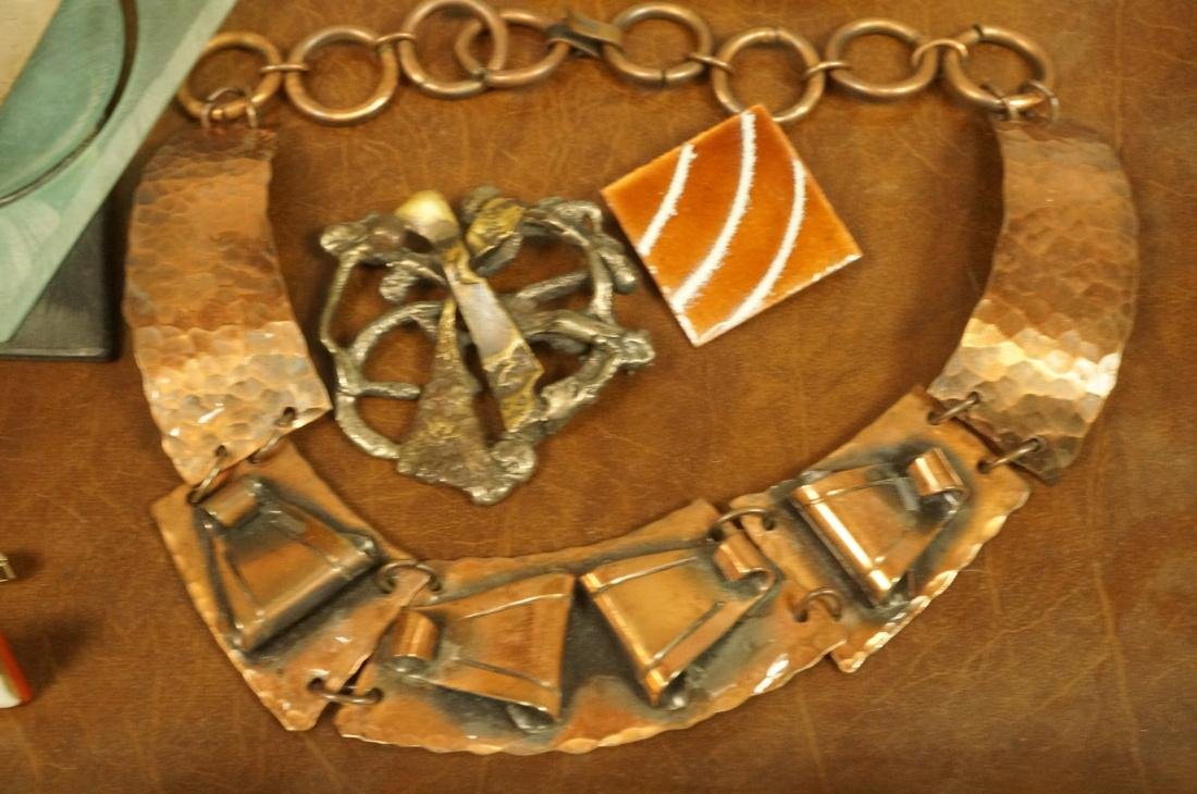 17pc Contemporary Artisan Jewelry. ROBERT LEE MOR - 2