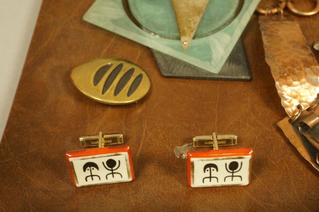 17pc Contemporary Artisan Jewelry. ROBERT LEE MOR - 3