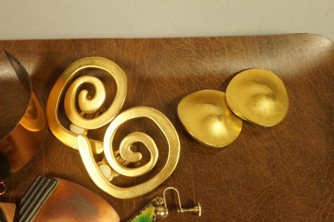 17pc Contemporary Artisan Jewelry. ROBERT LEE MOR - 5