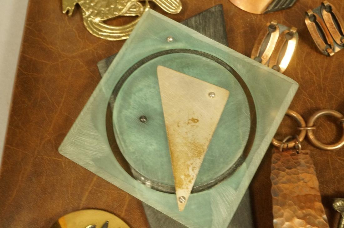 17pc Contemporary Artisan Jewelry. ROBERT LEE MOR - 7