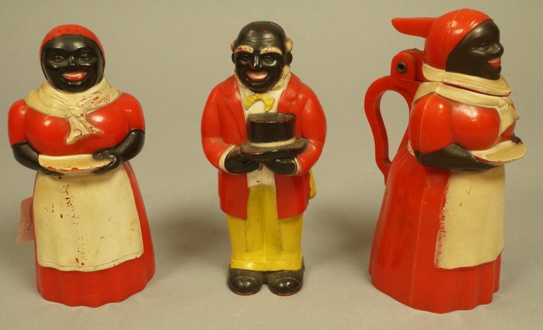 Set 3 FNF MOLDEN WORKS Aunt Jemina Figures. Salt