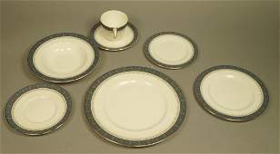 74pc ROYAL DOULTON Dinnerware Set SHERBROOKE Pat