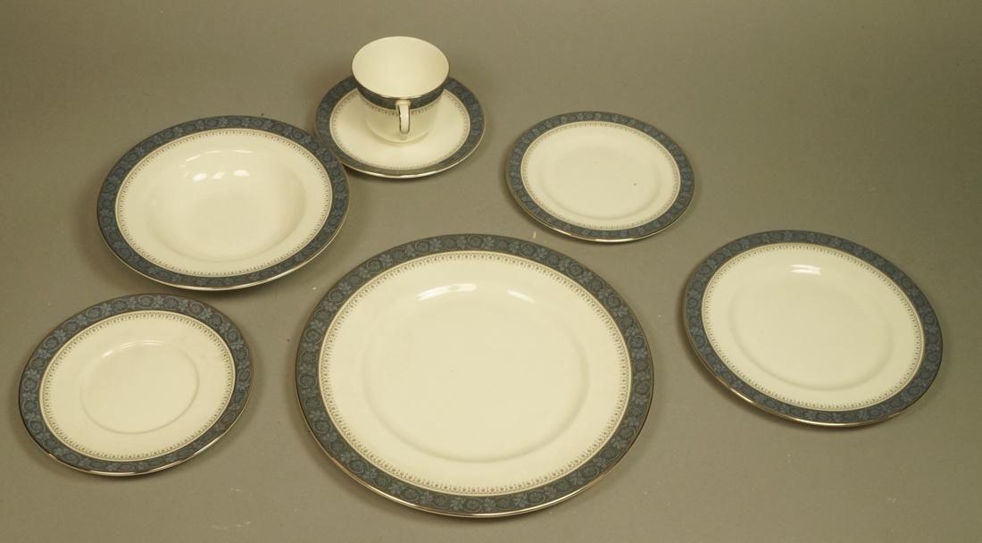 74pc ROYAL DOULTON Dinnerware Set. SHERBROOKE Pat