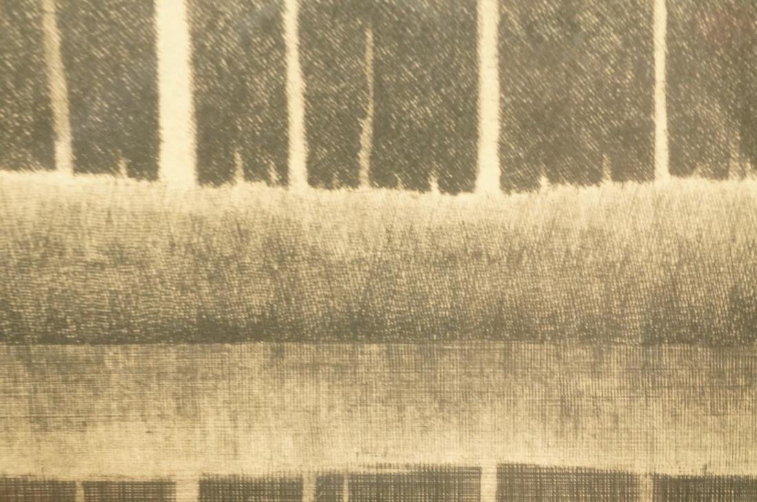 """SHIGERU KIMURA Etching. """"A White Tree in a Landsc - 5"""