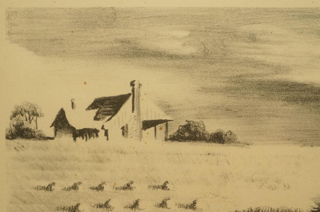 "GEORGES SCHREIBER Original Lithograph. ""Southern - 4"