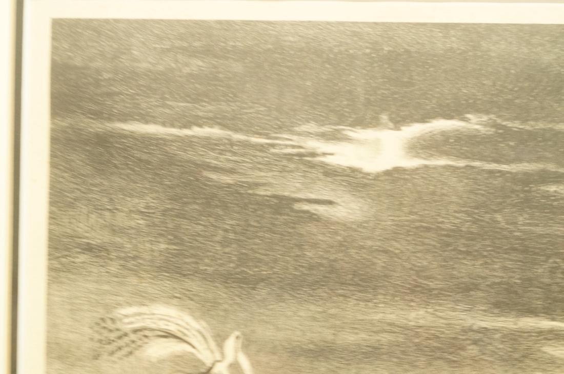 "GEORGES SCHREIBER Original Lithograph. ""Twilight"" - 3"