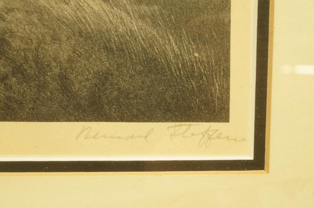 """BERNARD STEFFEN Original Lithograph. """"Upland"""".  M - 3"""