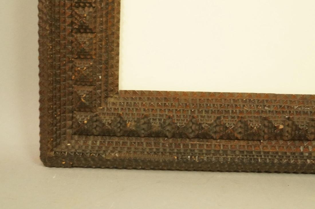 Antique Tramp Art Fame with Layered design. - 5