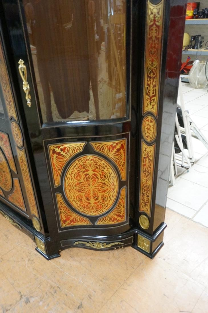 Decorative Boulle Style Display Cabinet. Serpenti - 10