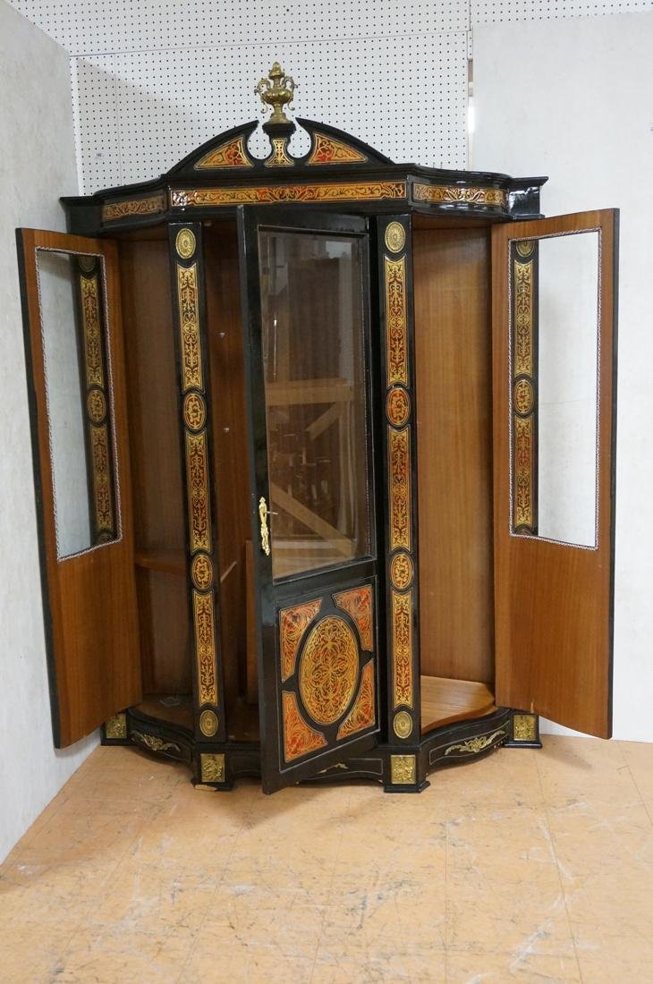 Decorative Boulle Style Display Cabinet. Serpenti - 2