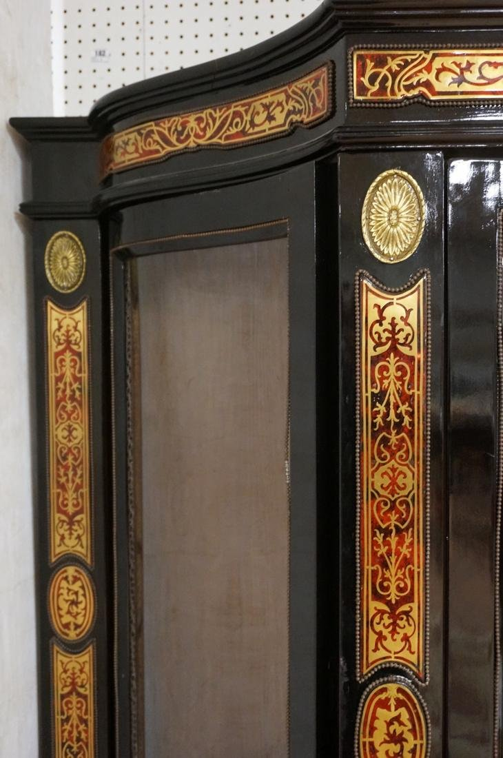 Decorative Boulle Style Display Cabinet. Serpenti - 5