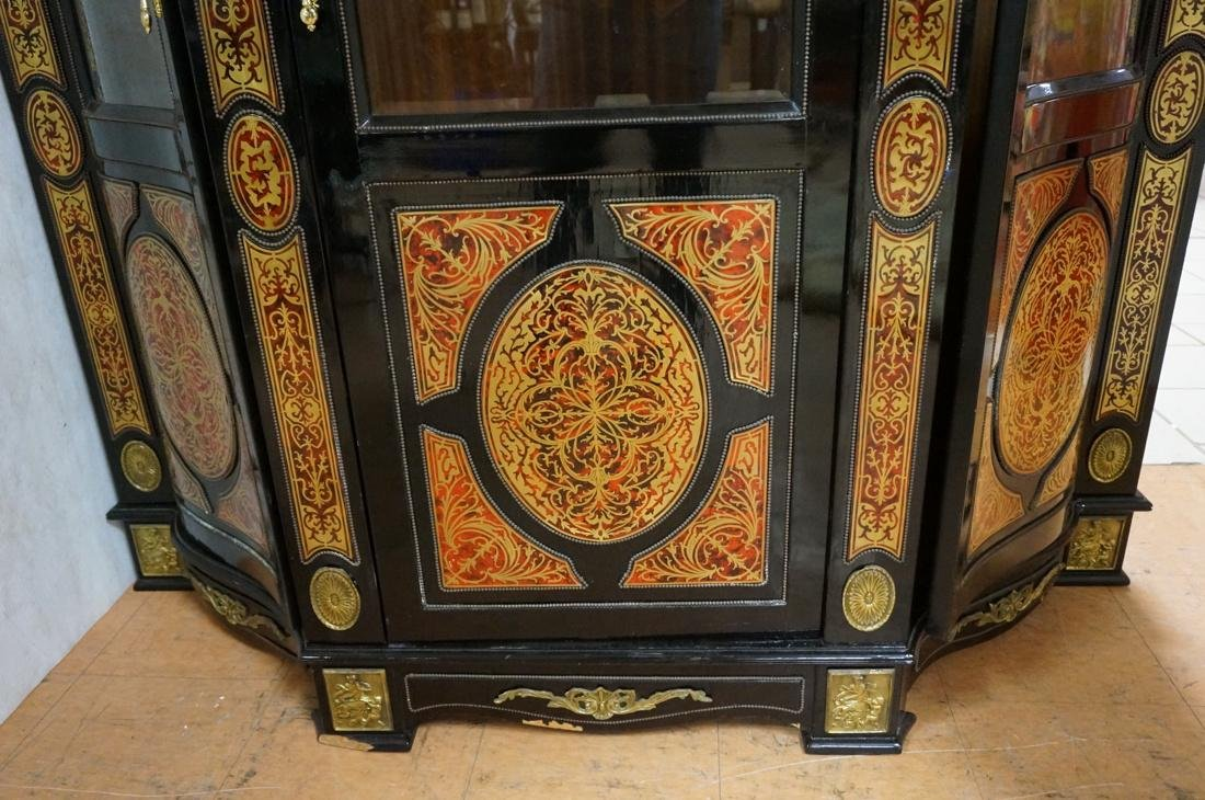 Decorative Boulle Style Display Cabinet. Serpenti - 7