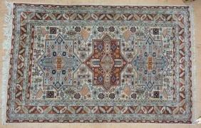 6'3 x 4'1  Handmade Oriental Carpet Rug.  Center