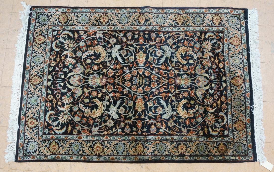 5'11 x 3'11 Oriental Carpet Rug .  Floral with da