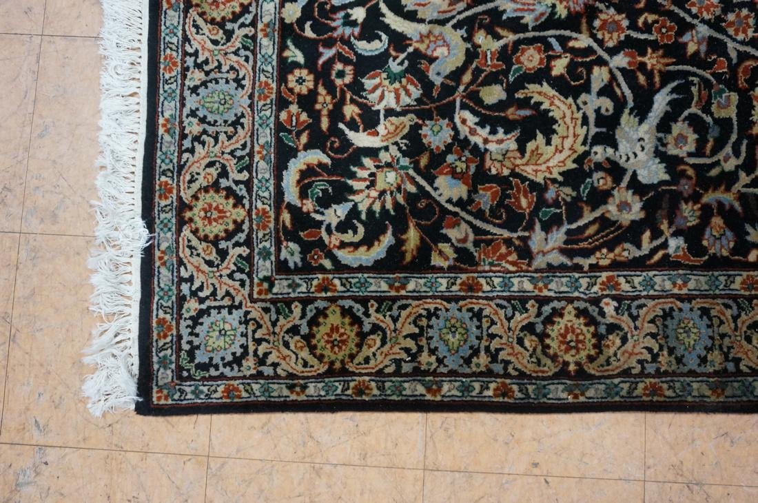 5'11 x 3'11 Oriental Carpet Rug .  Floral with da - 3