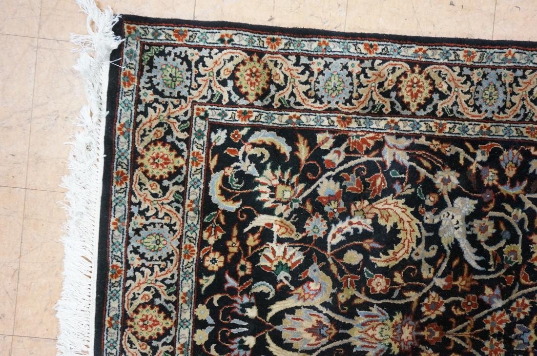 5'11 x 3'11 Oriental Carpet Rug .  Floral with da - 4