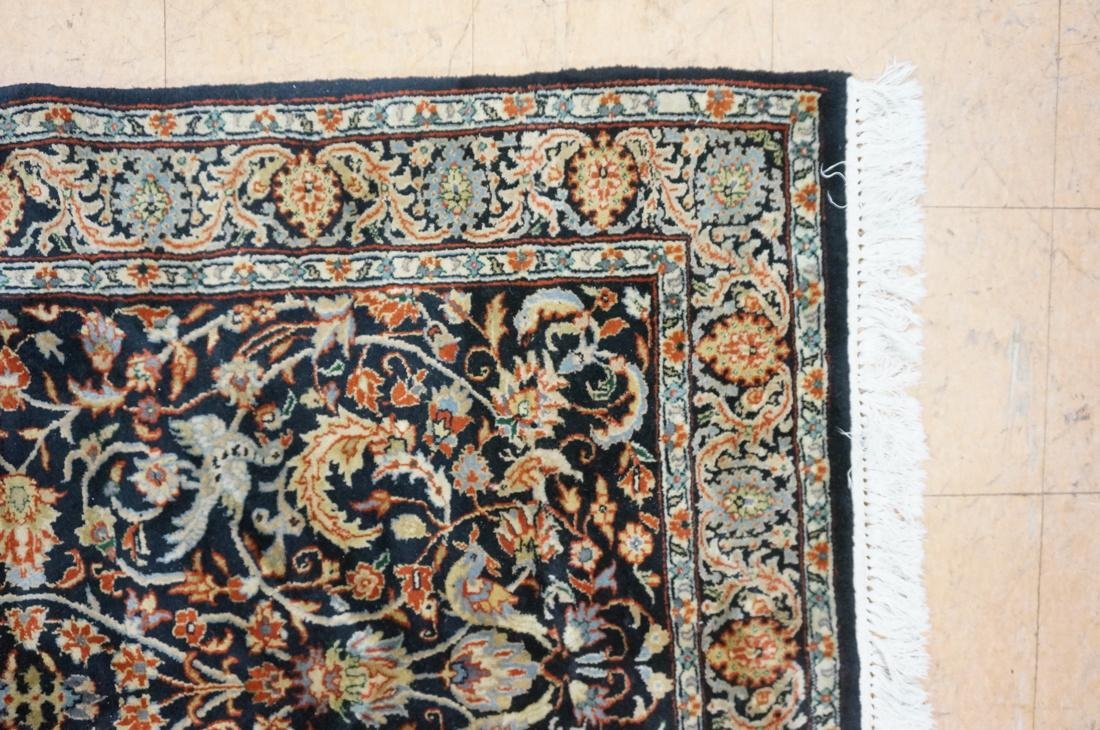 5'11 x 3'11 Oriental Carpet Rug .  Floral with da - 5
