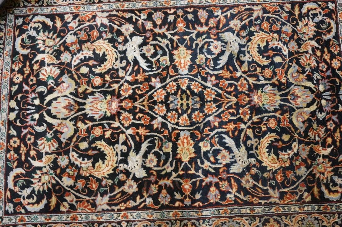 5'11 x 3'11 Oriental Carpet Rug .  Floral with da - 6
