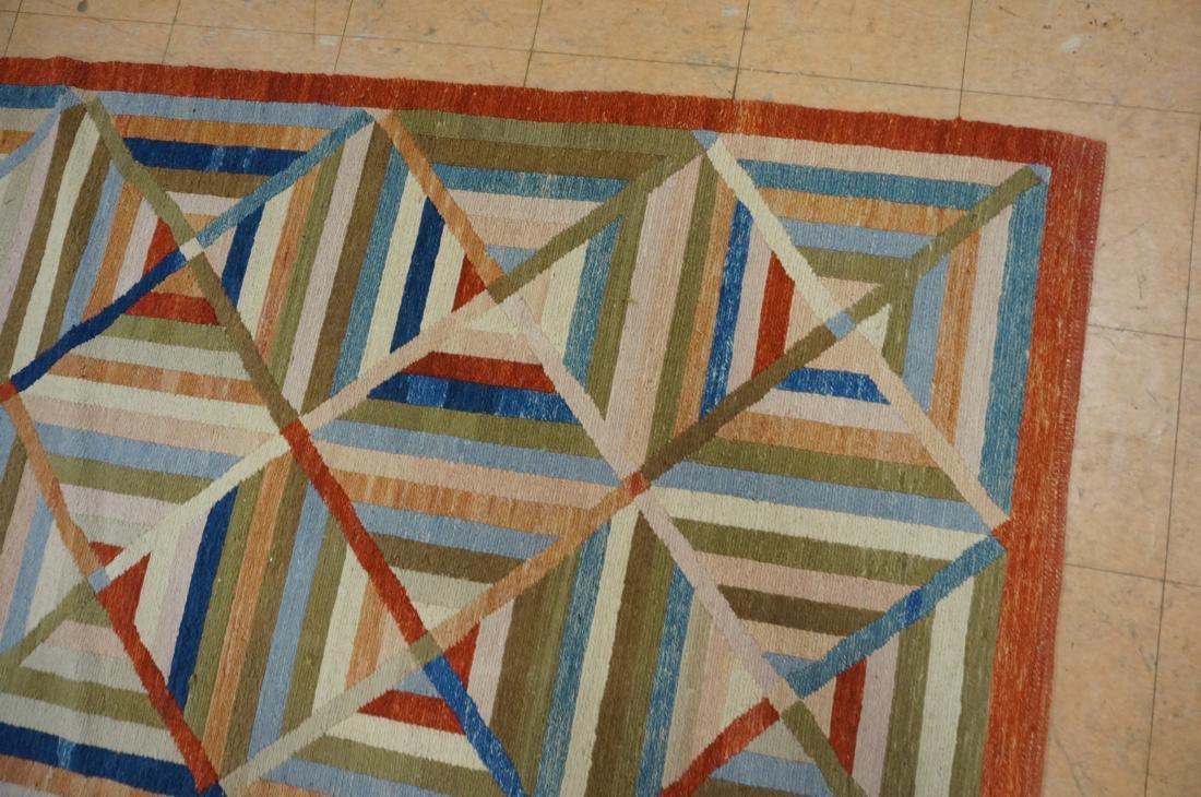 11'8 x 8'7  Contemporary Woven Carpet Rug.  Squar - 4