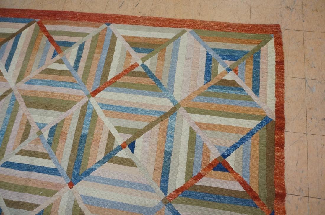 11'8 x 8'7  Contemporary Woven Carpet Rug.  Squar - 5