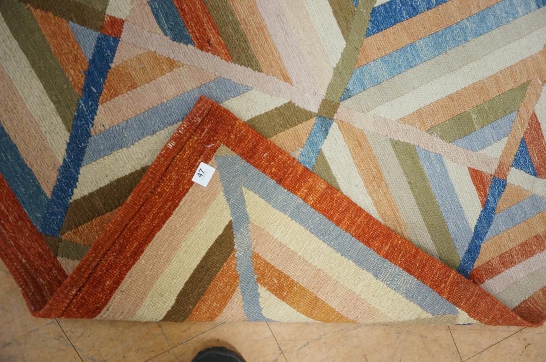11'8 x 8'7  Contemporary Woven Carpet Rug.  Squar - 6