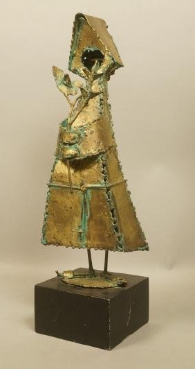 Bijan Masoumpanah Welded Metal Sculpture Figure