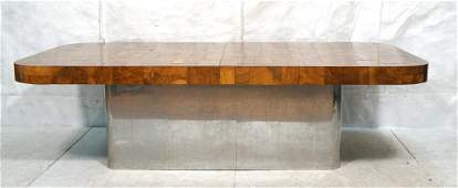 Paul Evans/Directional Attributed Dining Table.
