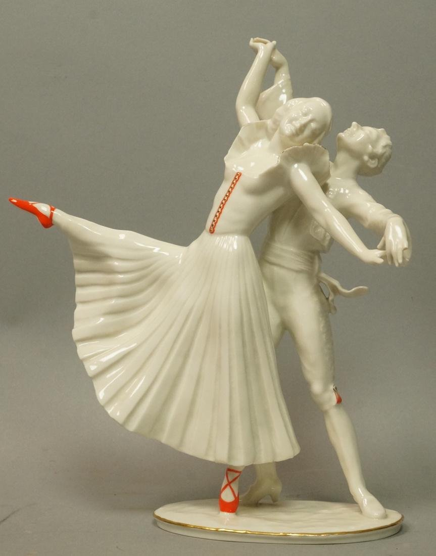 HUTSCHENREUTHER Germany Porcelain Figural Group C