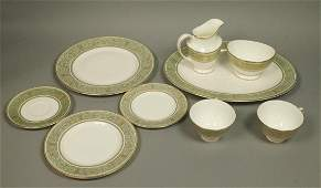 "50pc ROYAL DOULTON Dinnerware Set. ""English Renai"