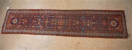 3 x 132 Handmade Oriental Carpet Rug Runner  G