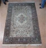I6'8 x 9'11 India Handmade Oriental Carpet Rug.