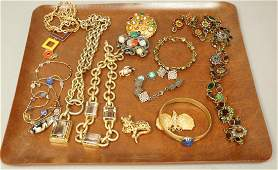 13pcs Costume Jewelry. Sorrelli Necklace and Ear