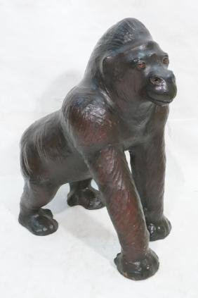 Abercrombie & Fitch Style Leather Gorilla. Large