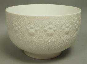 BJORN WIINBLAD for ROSENTHAL Porcelain Bowl. Whit