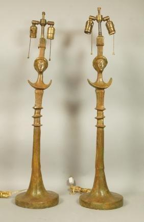 Pr ALBERTO GIACOMETTI Style Bronze Tete de Femme.