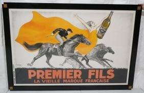 "Original ""Premier Fils"" Aperitif Poster by ROBY."