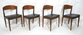 Set 4 Danish Modern Dining Chairs JYD SK MOBLER.