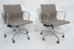 Pr HERMAN MILLER Aluminum Group Office Desk Chair