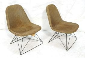 Pr HERMAN MILLER Cat's Cradle Tower Chairs. CHARL