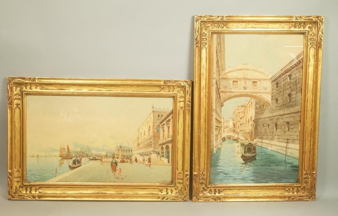 Pr V. ARRIDINY Venice Venetian Canal Scenes. Wate