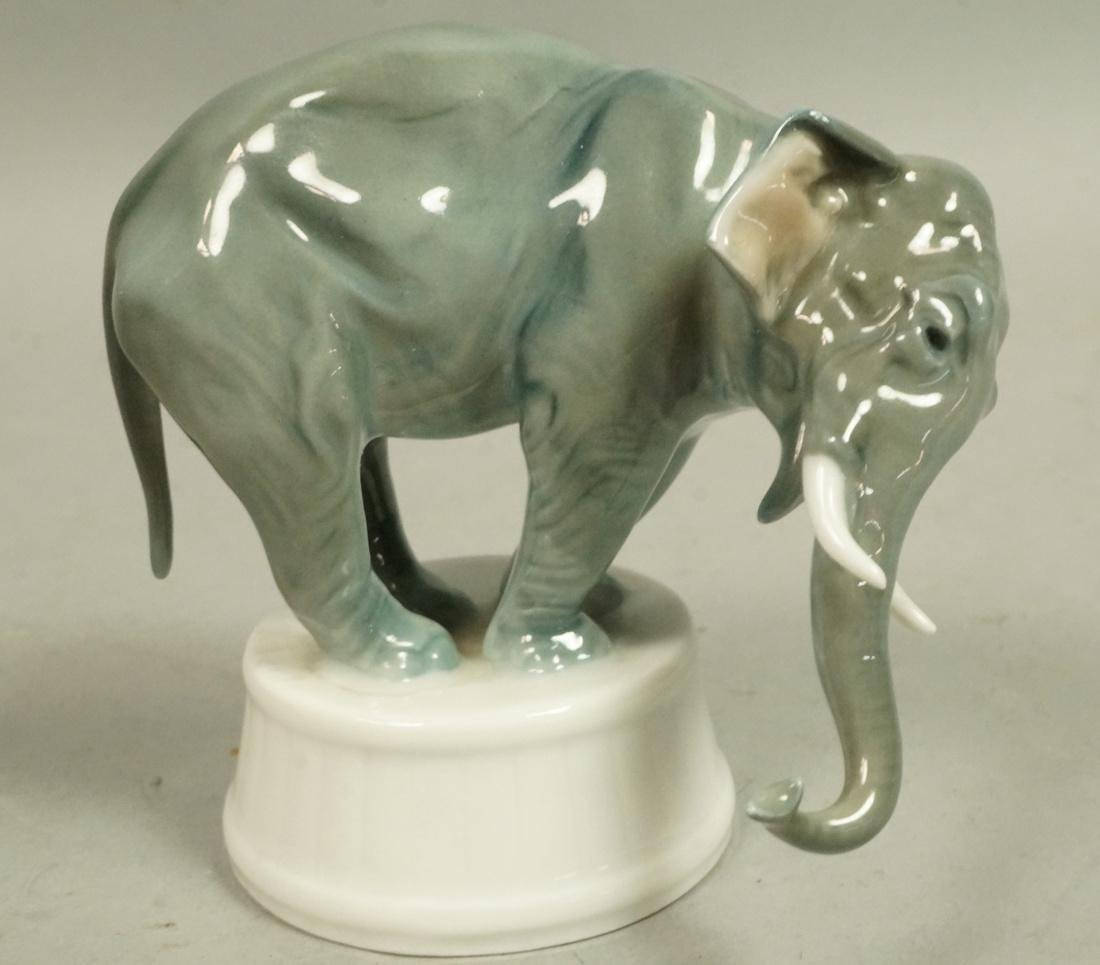 ROSENTHAL Bavaria Elephant Figure. Sculptural fig