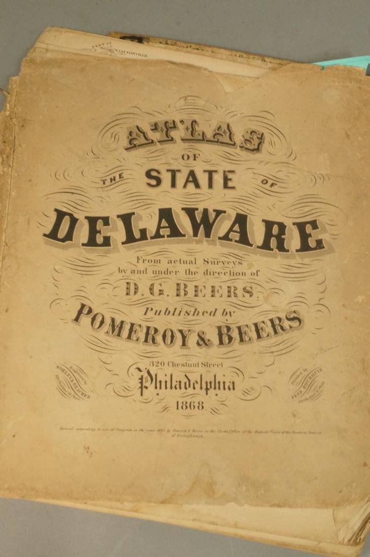 Atlas of the State of Delaware. Pomeroy and Beers